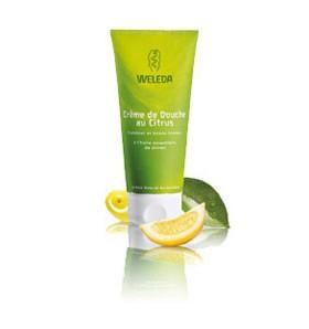 Crème de douche bio au citrus - 200 ml