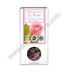 Fleurs bio à croquer - Boutons de rose