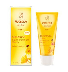 Crème protectrice visage au calendula - bébé - 50 ml