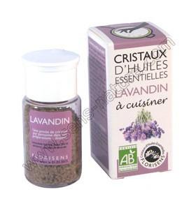 Cristaux d'huiles essentielles - Lavandin