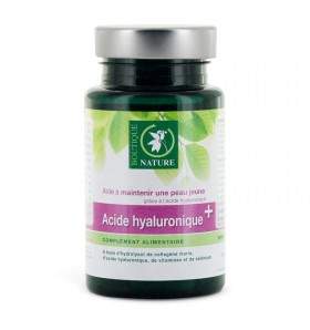 Acide hyaluronique + - 60 gélules