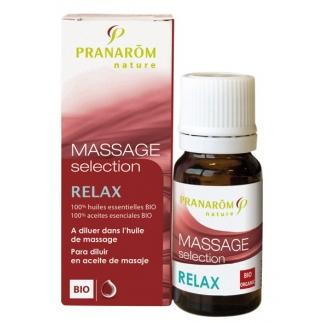 Huile de massage Sélection - Relax BIO 10ml