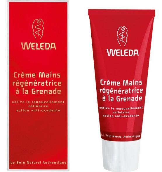 Crème mains régénératrice à la grenade - 50ml