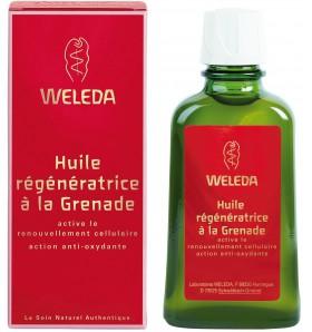 Huile régénératrice à la grenade - 100 ml