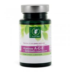 Vitamines A-C-E + Sélénium - 60 comprimés