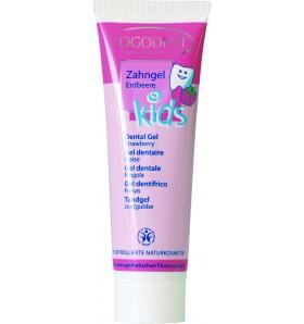Gel dentaire enfant à la fraise - Logodent kids - 50 ml