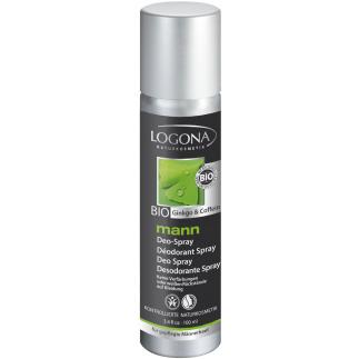 Déodorant en spray caféine et ginkgo – Mann – 100 ml