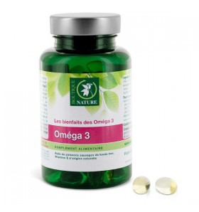 Oméga 3 - Confort cardiovasculaire - 90 capsules