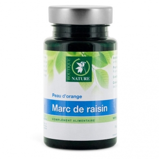 Marc de raisin - Peau d'orange - 90 gélules