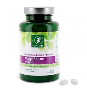 Magnésium marin- Fatigue - 60 comprimés