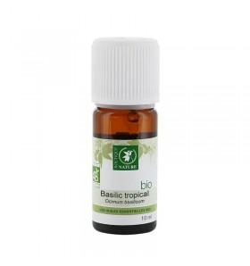 Huile essentielle Basilic tropical bio - 10 ml