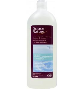 Douche hypoallergénique à l'eau florale de rose bio - 1 litre