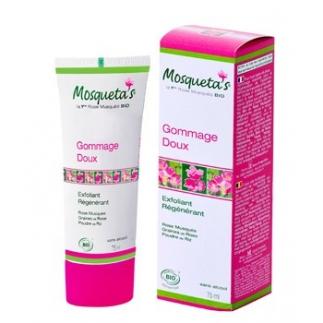 Gommage doux à la rose musquée - 75 ml