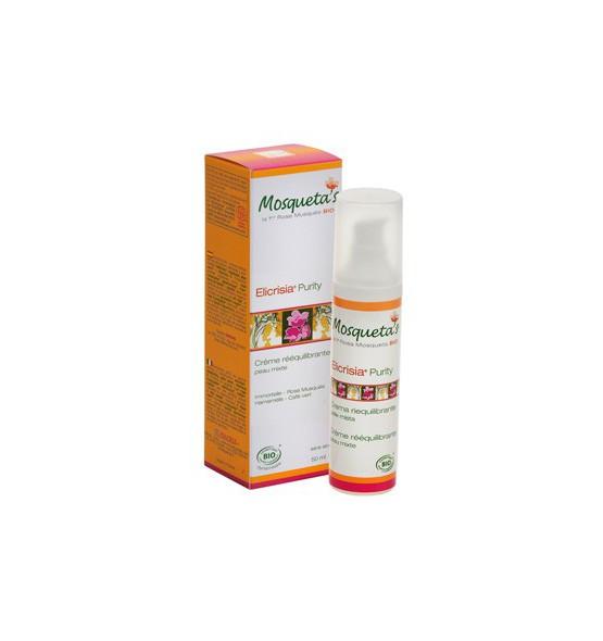 Crème Elicrisia Purity - rééquilibrante - 50 ml