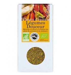 Fleurs d'épices bio - Légumes Douceurs - 45g
