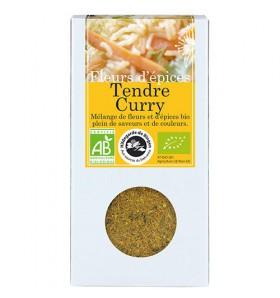 Fleurs d'épices bio Tendre Curry - 40g