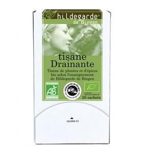 Tisane bio drainante détoxifiante - 20 Sachets