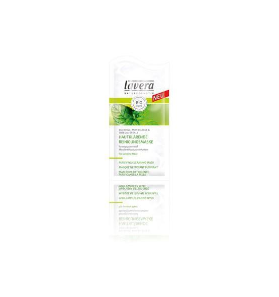 Masque Nettoyant Purifiant - Menthe Bio - Sachet de 10 ml