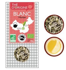 Thé blanc bio - Pivoine blanche - Hunan