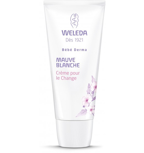 Crème pour le change à la mauve blanche bio - Bébé Derma - 50 ml