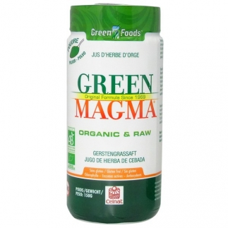 Green Magma - jus d'herbe d'orge bio - Poudre 150 gr