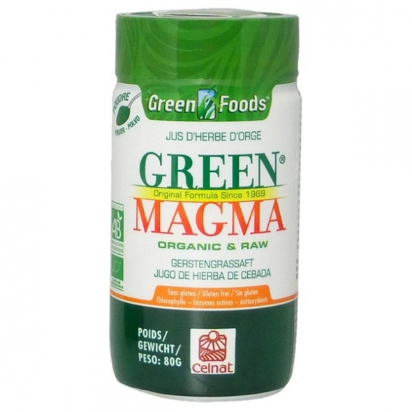 Green Magma - Jus d'herbe d'orge bio - Poudre 80g