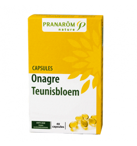 Capsules aromatiques - Onagre - anti-âge - 40 caps