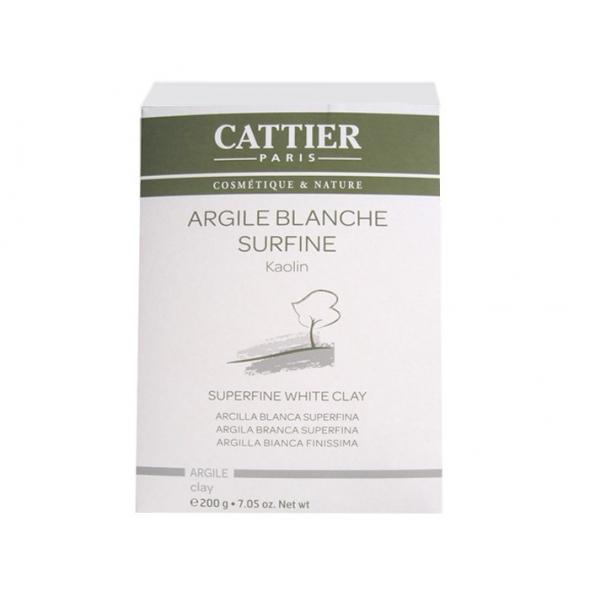 Argile blanche surfine - boîte de 200 gr