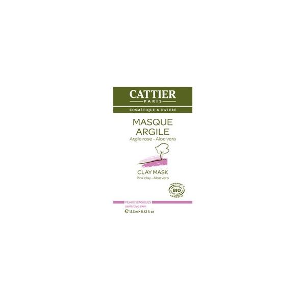 Masque à l'argile rose Aloe Vera - UNIDOSE 12.5ml