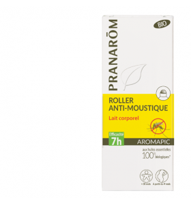 Roller anti-moustiques Bio - Aromapic - 75 ml