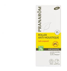 Roller anti-moustiques Bio - lait corporel - Aromapic - 75 ml