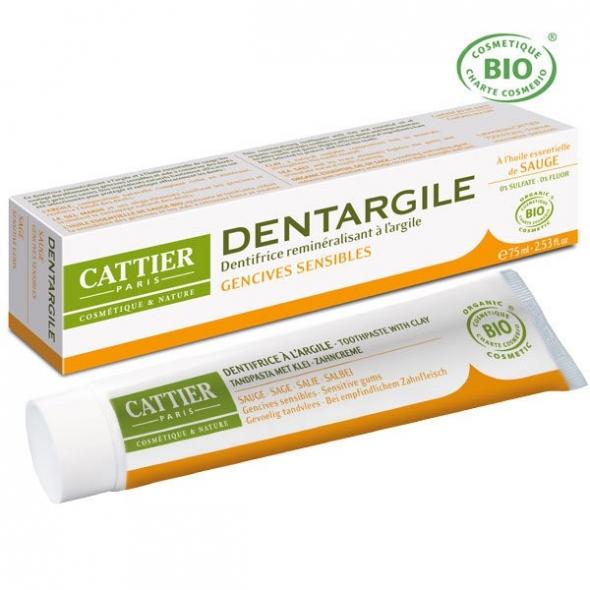 Dentargile Sauge - Dentifrice gencives douloureuses - 75 ml