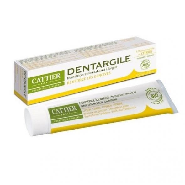 Dentargile Citron - Dentifrice gencives irritées - 75 ml