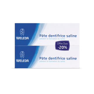 DUO Pâte dentifrice saline bio - 75 ml