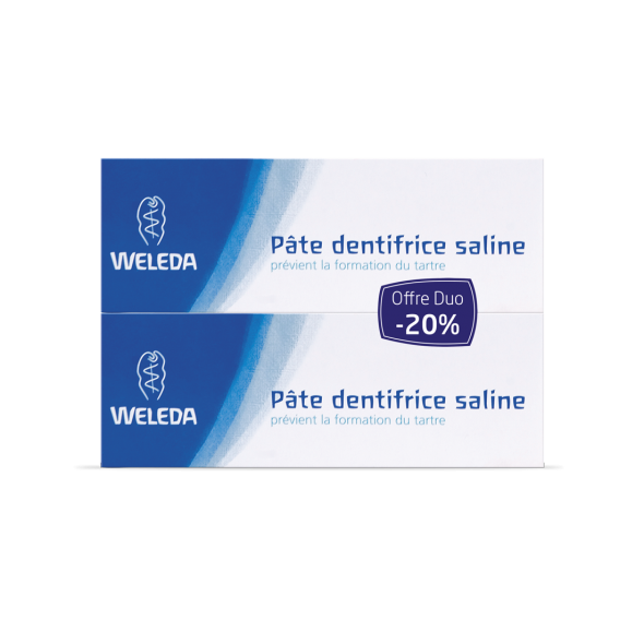 DUO Pâte dentifrice saline bio - 75 ml