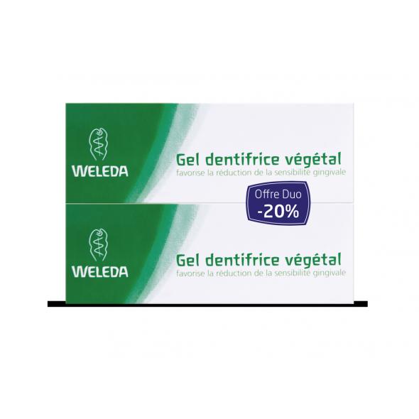 DUO Gel dentifrice végétal bio- 75 ml