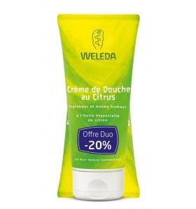 DUO Crème de douche bio au citrus - 200 ml