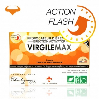 Provocateur d'érection action flash Virgile Max - 1 Sachet monodose