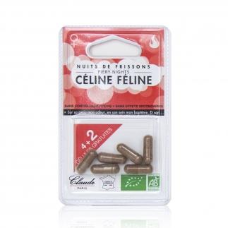 Sublimateur de Libido 100% Bio Céline Féline - Blister 4 + 2 Gélules gratuites