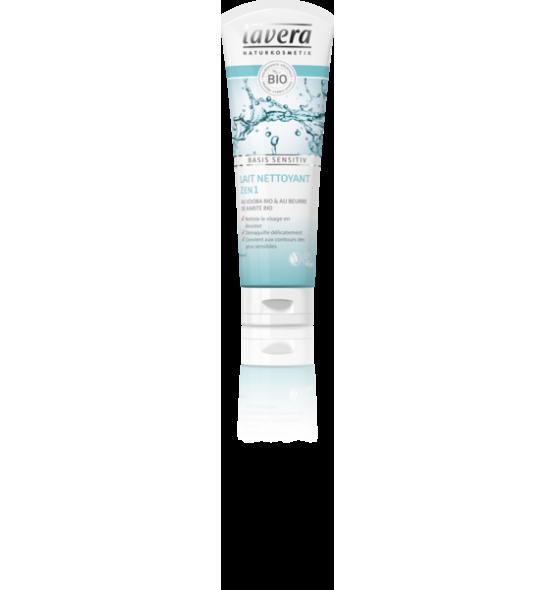 Lait nettoyant 2 en 1 - Basis Sensitiv - 125 ml