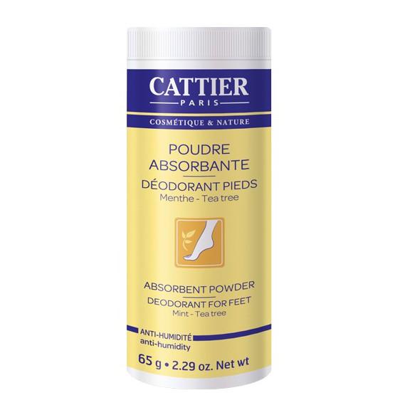 Poudre absorbante - Déodorant pieds - 65 gr