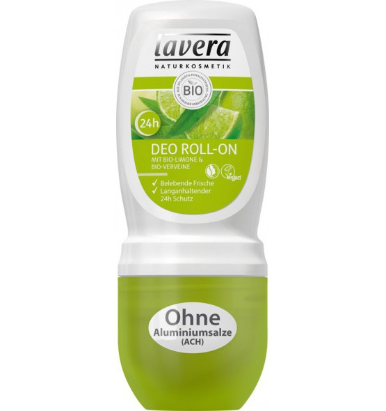 Déodorant roll-on Verveine & Citron bio - 50 ml