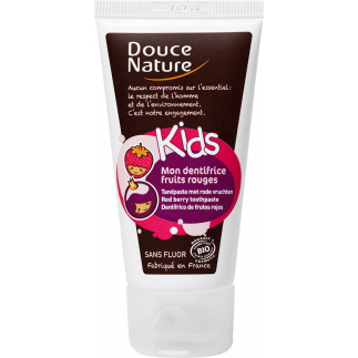 Mon Dentifrice Kids sans fluor - Fruits rouges - 50 ml
