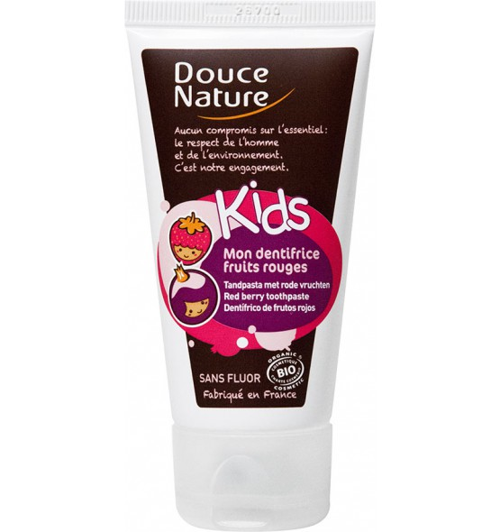 Mon Dentifrice Kids sans fluor - Fruits rouges - 50 ml
