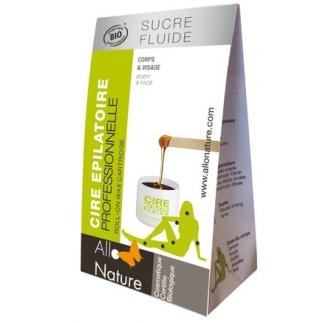 Cire orientale fluide au sucre bio - 140 g