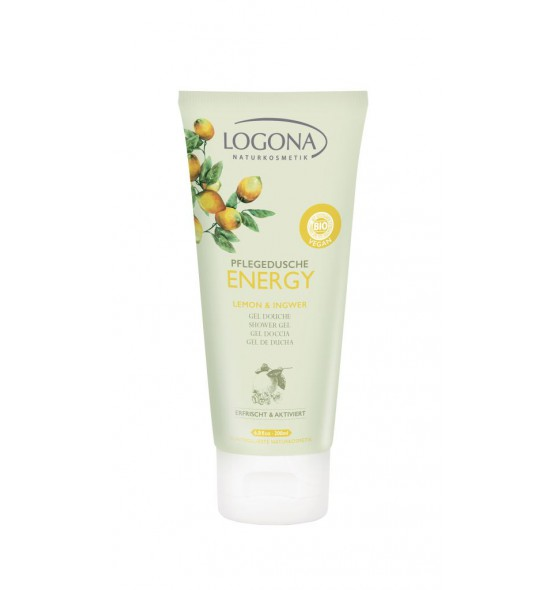 Gel douche Energy bio citron gingembre - 200 ml