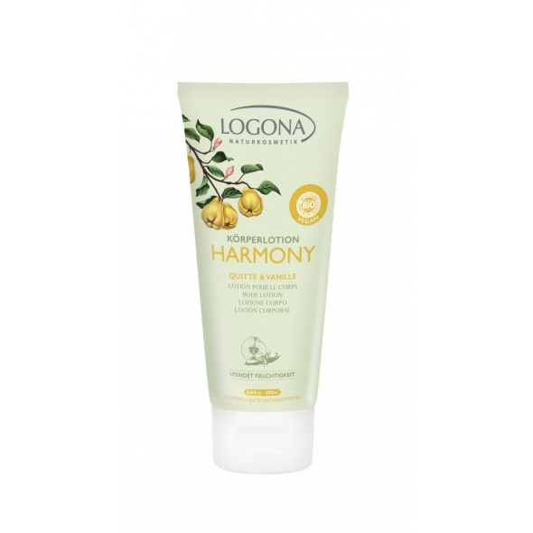 Lait corps Harmony bio coing vanille - 200 ml