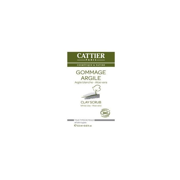 Gommage à l'argile blanche Aloe vera - UNIDOSE 12.5ml