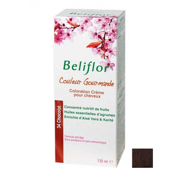 Coloration crème pour cheveux - Beliflor