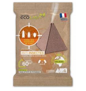 Pyramide fumigène anti-insectes